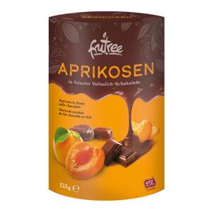 Oválne papierové krabičky 125 g pre orechy a ovocie v čokoláde