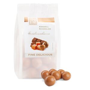 PET sáčky 125 g pre čokládové delikatesy s príchuťami
